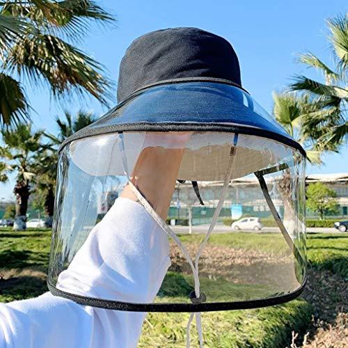Vaeiner Schutzvisier, Abnehmbarer Speichelschutz Staubabweisende Vollschutzmaske Visierschutz