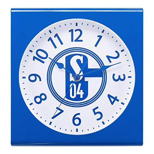 FC Schalke 04 Wanduhr - Retro - Uhr, Wall Clock S04 - Plus Lesezeichen I Love Gelsenkirchen
