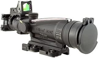 Trijicon ACOG Dual Illuminated Red Horseshoe Rifle Scope with 9.0 MOA RMR Sight and LaRue Tactical Mount
