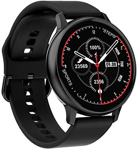 Reloj inteligente Full Touch para mujer, resistente al agua, pulsera EKG, monitor de frecuencia cardíaca, monitor de sueño, reloj inteligente para hombres, conexión iOS, Android
