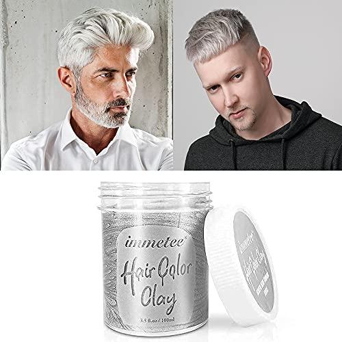 immetee Hair Color Clay, Hair Dye Wax DIY Hair Hairstyle Cream...