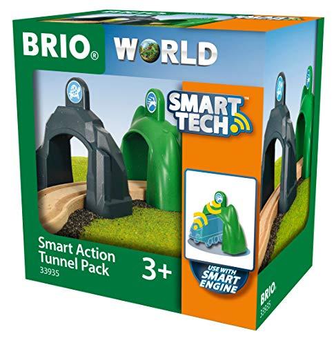 BRIO Bahn 33935 - Smart Tech Action Tunnels Geschwindigkeit