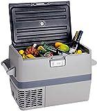 Smad 54 Quart Fridge Freezer 12V Refrigerator Freezer for Car Motor Home Caravan Camper Van RV Boat Truck Driver, -0.4 ℉~5 ℉(Extra AC/DC Adaptor Offered)