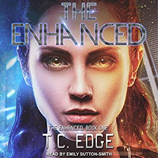 The Enhanced audiobook cover art