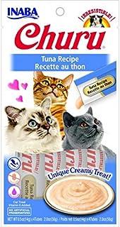 INABA CHURU PUREE TUNA RECIPE CAT TREATS 4x15g