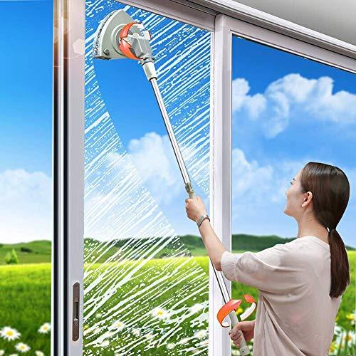 DBXOKK lavavetri Magnetico bifacciale Aliante di Alta qualità |Facile Pulizia delle finestre |Pulizia dei vetri Interni ed Esterni per finestre con Doppi e tripli vetri (