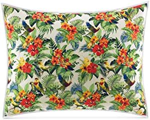 Tommy Bahama Parrot Cove Cotton Quilted Standard Sham Multi Color