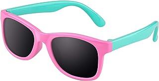 CGID Rubberen flexibele gepolariseerde zonnebril voor kinderen voor baby's en kinderen van 3-5 jaar, K25