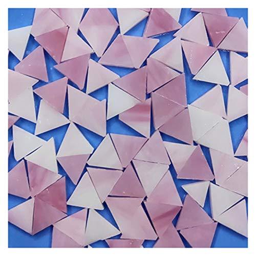 ShawnBlue 50 g/Bolsa Azulejos de Mosaico de Cristal Color Mezclado Color Mezclado para artesanías de Bricolaje Mosaico Haciendo niños Rompecabezas Arte artesanía de Piedra Transparente