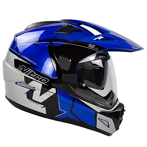 Nitro MX670 Podium Adventure - Casco para motocicleta, color