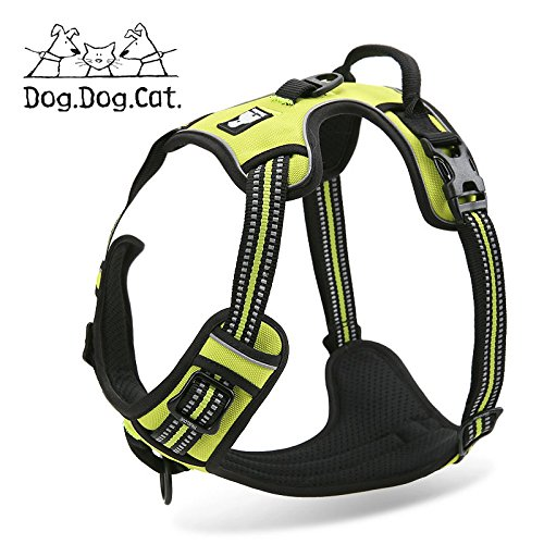 True Love Pet verhindert Zerren Non-Choking Training Hundegeschirr, XS, Lime
