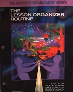 lesson organizer routine