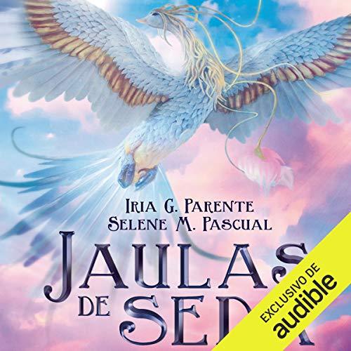 Diseño de la portada del título Jaulas de seda