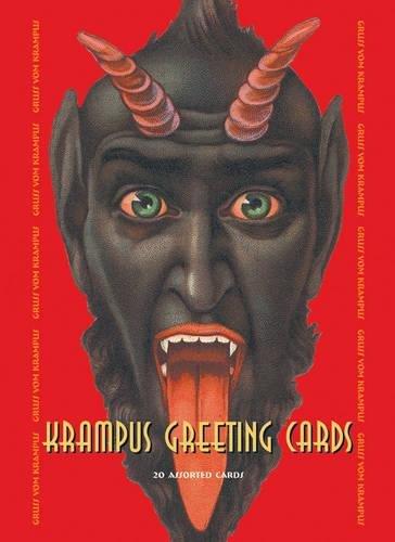 Krampus Greeting Cards