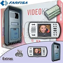 Farfisa 2/V encastr/é Interphone bi-Famille Traditionnelle 4/ 10/W 240/V N C/âblage