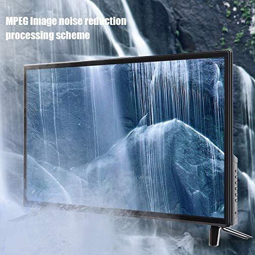 Qqmora 32 pulgadas 2K edición en línea 220V BCL-32A/3216D HD LCD Smart TV para oficina en casa (regulador británico, rosa)