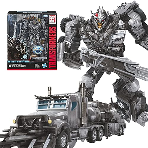 Wwwe Transformer Toy, Robotde Mationtoy, Voyager SS-48 Movie 1 Megatron Action Figure, Adatto A Bambini sopra I 6 Anni