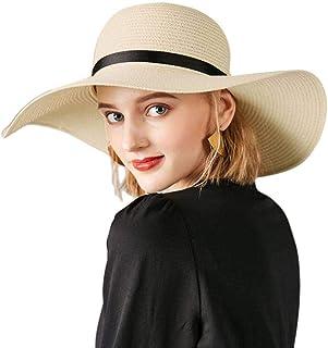 Safari Vacanza Cappello Da Sole Donna Estate Cappelli Ampio Orlo Coda di Cavallo UV Outdoor Escursionismo