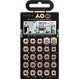 Teenage Engineering Pocket Operator PO-16 Factory Synthersizer 16 Step Pattern Sequencer - Black/Orange