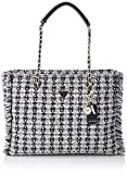 Guess CESSILY Tote, Bags Flap Donna, White, One Size