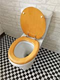 Goquik WC-Sitz, langlebig, 42-47 x 36-39 cm