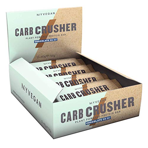 My Protein Vegan Carb Crusher Chocolate Sea Salt 12 x 60g