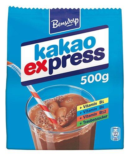 6x Bensdorp - Kakao Express, Nachfüllung - 500g
