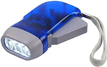 Bao xiang Hand Press Torch Light Led Zaklamp Wind Up Dynamo Manual Generator Crank Vermogen Camping Lamp