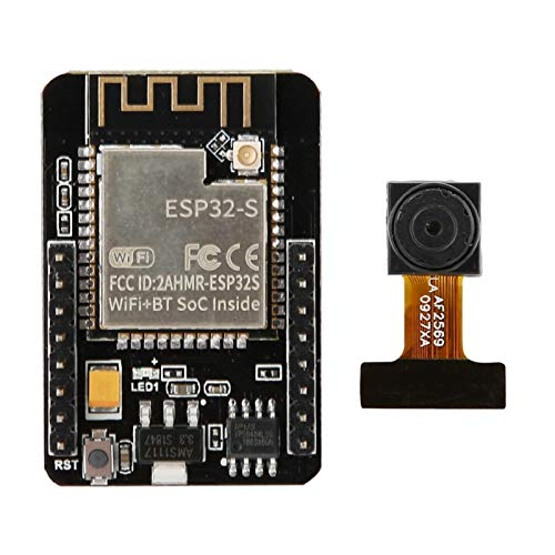 Módulo de cámara ESP32-CAM WiFi Bluetooth Placa de Desarrollo 5V ESP32 con cámara OV2640