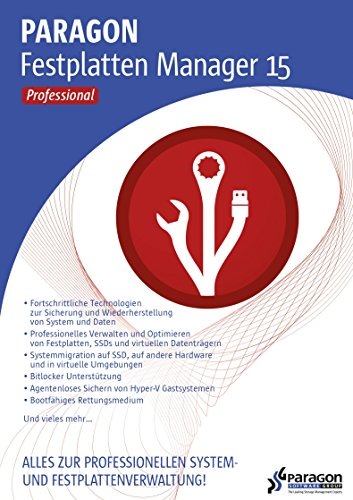 Paragon Festplatten Manager 15 Professional [Download]