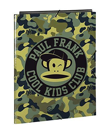 Paul Frank Camo Oficial Carpeta Folio Oficial Con 3 Solapas 260x365mm