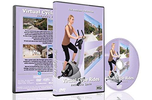 Virtuelle Fahrradtouren DVD - Andalusien, Spanien - für Indoor Radfahren, Laufband und Jogging Workouts