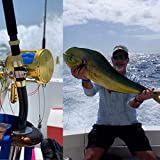 Gomexus Trolling Reel Shark Tuna Tournament Reel Smooth Durable 2 Speed 70lbs 30W 10 Tear Test