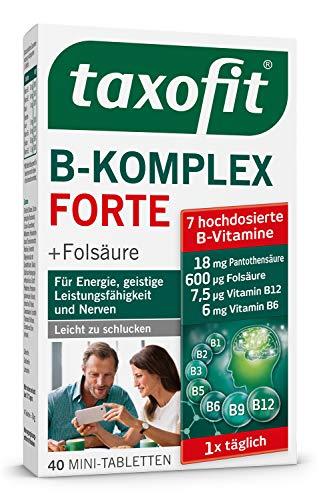 Taxofit Vitamin B-Komplex Dragees 40 Stück