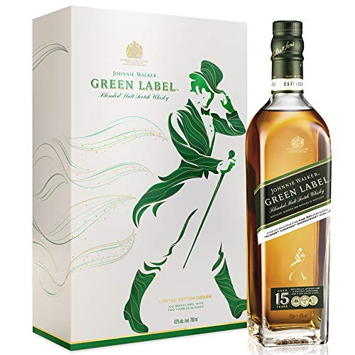 Johnnie Walker Green Label 15 Years Old  Whisky (1 x 0.7)