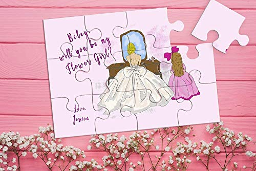 Will You Be My Flower Girl, Flower Girl Gift, Flower Girl Proposal Puzzle