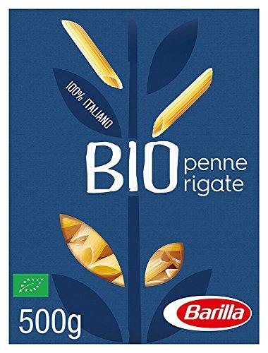 Barilla Hartweizen Pasta Penne Rigate Bio – 1er Pack (1x500g)