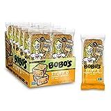 Bobo's Oat Stuff'd Bars (Peanut Butter, 12 Pack of 2.5 oz Bars) Gluten Free Whole Grain Rolled Oat Bars - Great Tasting Vegan On-The-Go Snack, Made in the USA