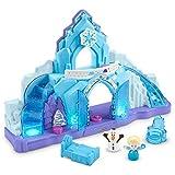 Fisher-Price GLM38 - Little People Frozen Elsas Eispalast mit Olaf inkl. Lichtern und Liedern...