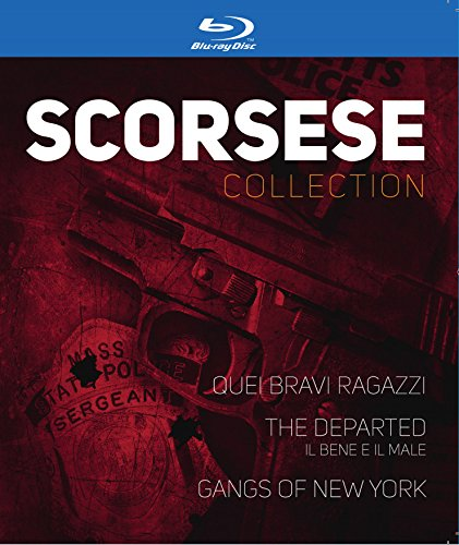 MARTIN SCORSESE COLLECTION 3 BLU RAY - Quei bravi ragazzi / The Departed / Gangs of New York