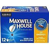 Maxwell House Antioxidants Original Medium Roast Keurig K Cup Coffee Pods (72 Count, 6 Boxes of 12)