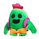 Isincer Bambola di Peluche Cactus, 20 cm di Peluche Cactus, Pokemon di Peluche, Giocattoli farciti per Bambini Giocattoli Regalo, Modello di Punta del Gioco Anime per Decorare Il Salotto di casa