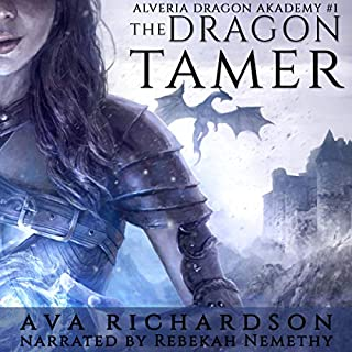 The Dragon Tamer audiobook cover art