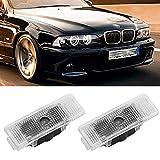 4 Pcs Car Door Logo Laser Welcome Light Led Projector Lamp for BMW E39 X5 E53 E52 528i Auto Emblem Ghost Shadow Luces Accessorie Convenience Bulbs (Color : 4 Pieces, Emitting Color : 02.M5 Logo)