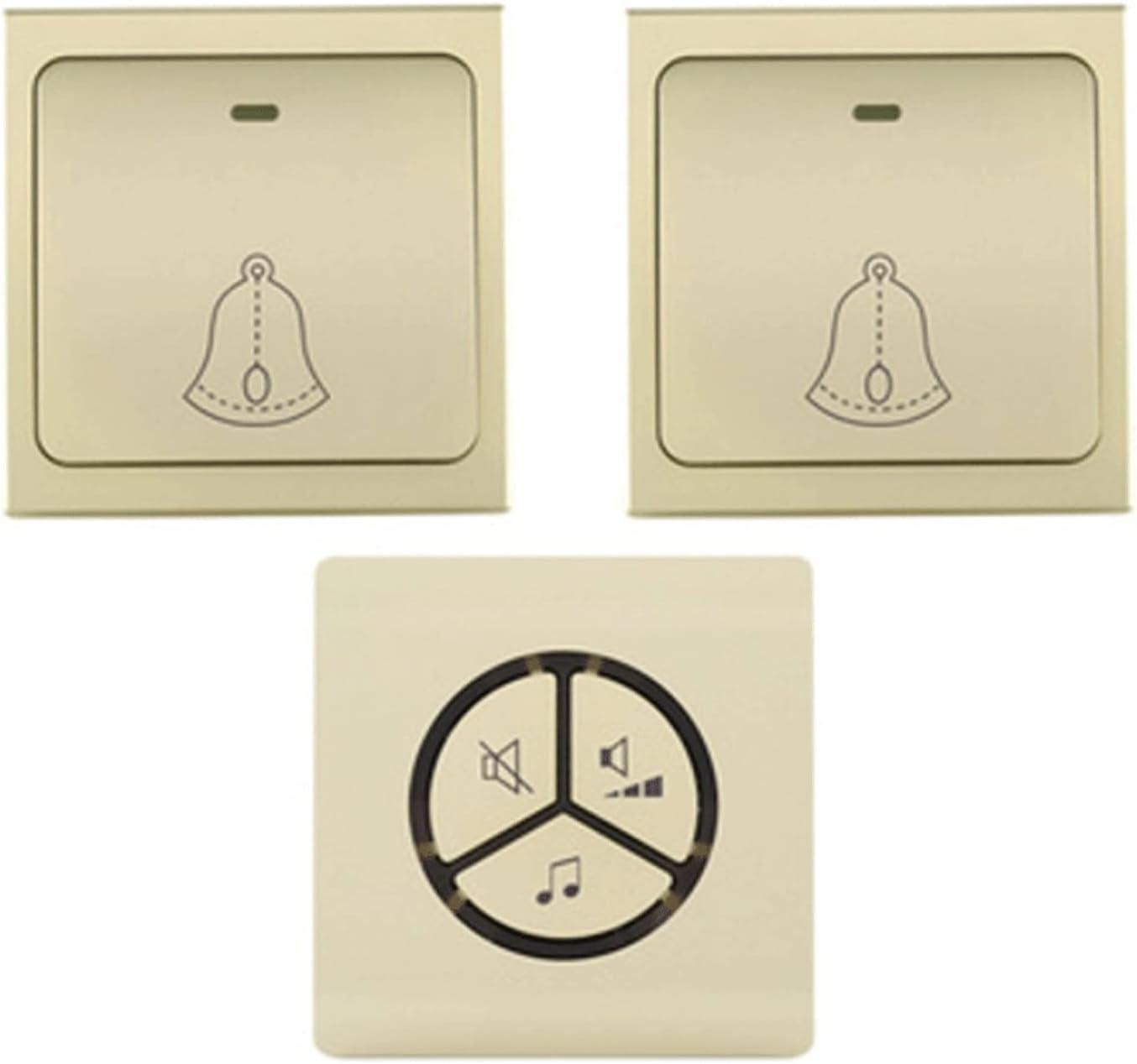 Rapid rise LYLY Elegant Wireless Doorbell Smart Waterproof Chime Doorbel Door Alarm