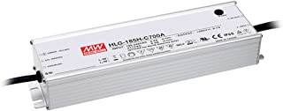 Mean Well HLG-185H-C1400B Power Supply, Single Output, LED, 200 W, 1.5