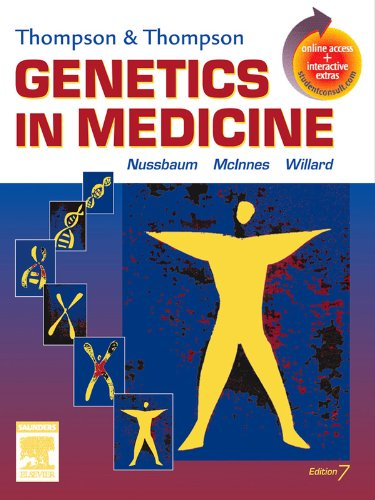 Thompson & Thompson Genetics in Medicine E-Book: With STUDENT CONSULT Online Access (Thompson and Thompson Genetics in Medicine) (English Edition)