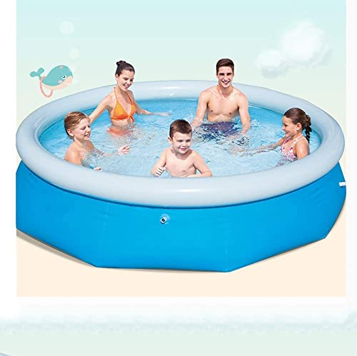 Inflatable Pool - Fast Set Pools Sommer Outdoor Fun Runde Planschbecken Garten Outdoor-Stunden Spaß Mit Ihrer Kinderfamilie (Größe   Large)
