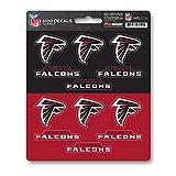 FANMATS ProMark NFL Atlanta Falcons DecalDecal Set Mini 12 Pack, Team Colors, One Size