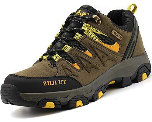 Lvptsh Zapatillas de Trekking para Hombre Botas de Montaña Zapatillas de Senderismo...